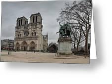 Paris France - Notre Dame De Paris - 011314 Greeting Card by DC Photographer