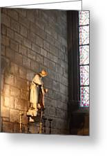 Paris France - Notre Dame De Paris - 01135 Greeting Card by DC Photographer