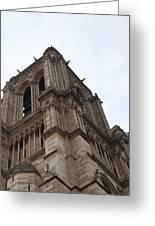Paris France - Notre Dame De Paris - 01139 Greeting Card by DC Photographer