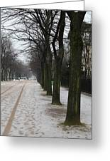 Paris France - Street Scenes - 011326 Greeting Card by DC Photographer