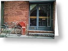 Parked Greeting Card by Johnny Lam