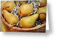 Party Pears Greeting Card by Andee Design