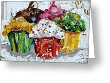 Party Time Greeting Card by Suzy Pal Powell