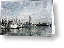 Pass Christian Harbor Greeting Card by Joan McCool