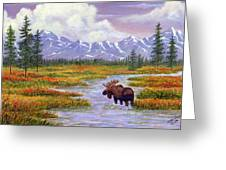 Passing Through Greeting Card by Ellen Strope