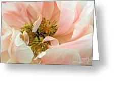 Pastel Floral Greeting Card by Kaye Menner