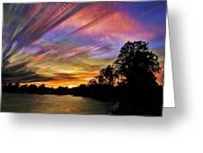 Pastel Pallet Greeting Card by Matt Molloy