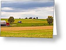 Pastoral Pennsylvania Greeting Card by Steve Harrington