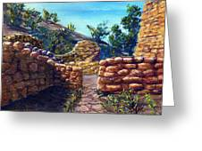 Path At Old Mission Greeting Card by Lenora  De Lude