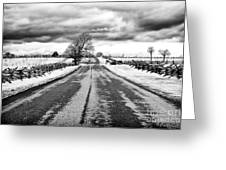 Path To Glory Greeting Card by John Rizzuto