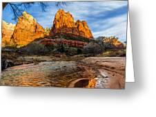 Patriarchs of Zion Greeting Card by Chad Dutson