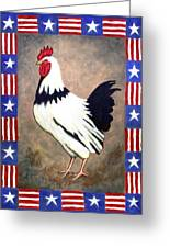 Patrick Patriotic Greeting Card by Linda Mears
