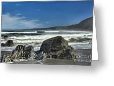 Patrick's Rocks Greeting Card by Adam Jewell