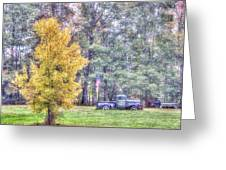Patriotic Autumn Greeting Card by Richard Bean