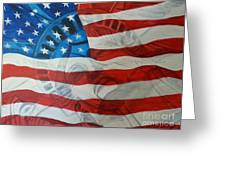 Patriotic Greeting Card by Michelley Fletcher