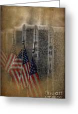 Patriots Pallet Greeting Card by The Stone Age