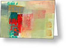 Pattern Study #2 Greeting Card by Jane Davies