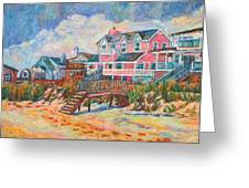 Pawleys Island Greeting Card by Kendall Kessler