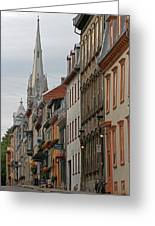 Peace And Quiet Of Rue De Sainte Ursule Greeting Card by Juergen Roth