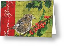 Peace On Earth 1 Greeting Card by Debbie DeWitt