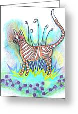 Peaches Greeting Card by Joy Calonico