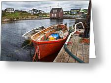 Peggy's Cove 19 Greeting Card by Betsy C  Knapp