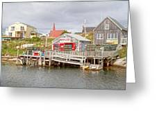 Peggy's Cove 7 Greeting Card by Betsy C  Knapp
