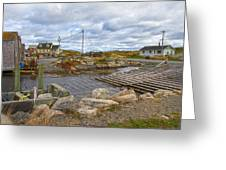 Peggy's Cove 8 Greeting Card by Betsy A  Cutler
