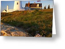 Pemaquid Point Lighthouse Greeting Card by Brian Jannsen