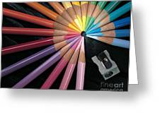 Pencils Greeting Card by Gary Gingrich Galleries