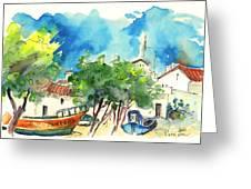 Peniche In Portugal 08 Greeting Card by Miki De Goodaboom