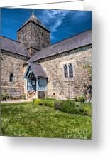 Penmon Priory Greeting Card by Adrian Evans