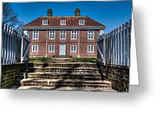 Pennsbury Manor Greeting Card by Capt Gerry Hare