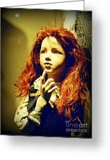 Pensive Mannequin Greeting Card by Halifax Photography John Malone