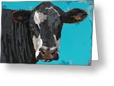People Like Cows #8 Greeting Card by David Palmer