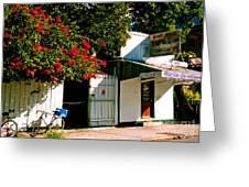 Pepes In Key West Florida Greeting Card by Susanne Van Hulst