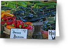Pepper Alley Greeting Card by Steph Maxson