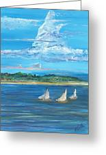 Perfection Greeting Card by Bev Veals