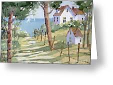 Perfectly Peaceful Nantucket Greeting Card by Joyce Hicks
