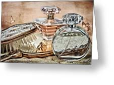 Perfume Bottle Ix Greeting Card by Tom Mc Nemar