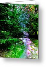 Perhaps It Will Come Greeting Card by Shirley Sirois