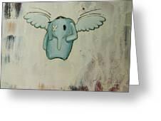 pete's angel Greeting Card by Konrad Geel