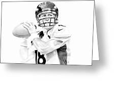 Peyton Manning Greeting Card by Don Medina