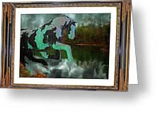 Phantom On The Lake Greeting Card by Betsy C  Knapp