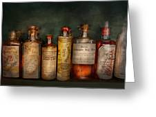 Pharmacy - Daily Remedies  Greeting Card by Mike Savad