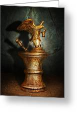 Pharmacy - Pestle - Proud Pharmacists  Greeting Card by Mike Savad