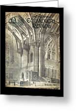 Phil Ecumenical Review 1965 Greeting Card by Glenn Bautista