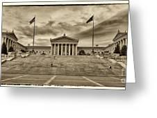 Philadelphia Art Museum 4 Greeting Card by Jack Paolini