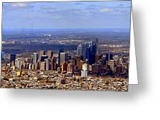 Philadelphia Greeting Card by Olivier Le Queinec