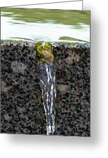 Phone Case - Cold And Clear Water Greeting Card by Alexander Senin
